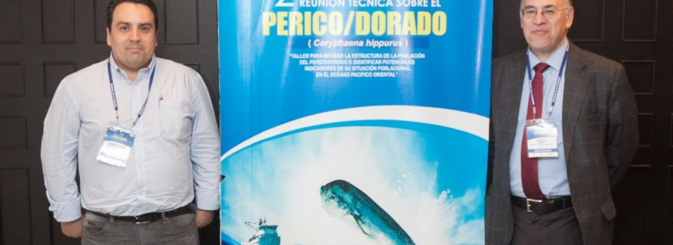 Researchers at the Instituto de Fomento Pesquero attend meeting of the Inter-american Tropical Tuna Commission (IATTC) in Peru