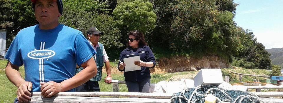Instituto de Fomento Pesquero se encuentra realizando un levantamiento de información socioeconómica en organizaciones artesanales titulares de áreas de manejo de recursos bentónicos