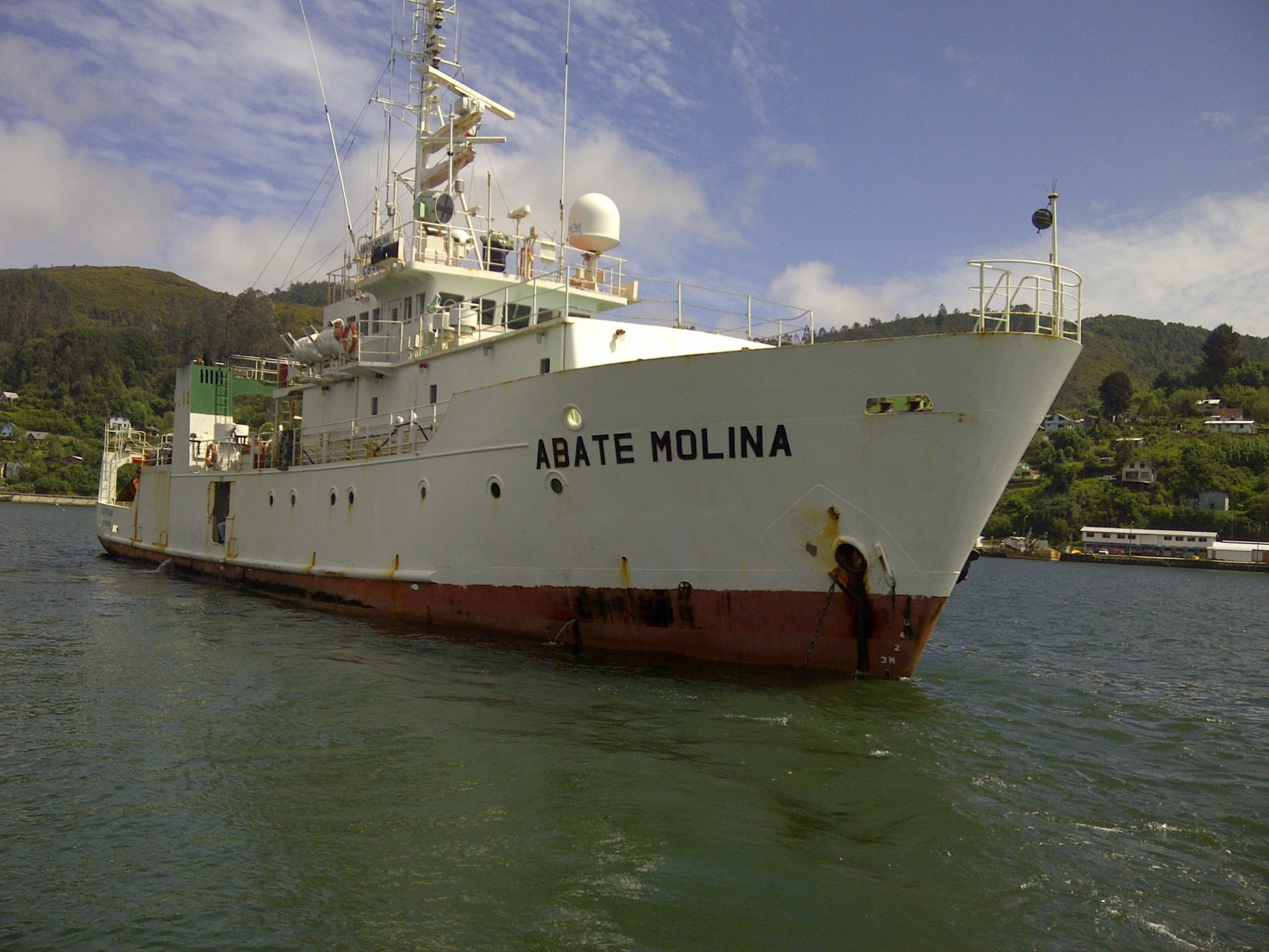 IFOP's Abate Molina Scientific Ship sailed