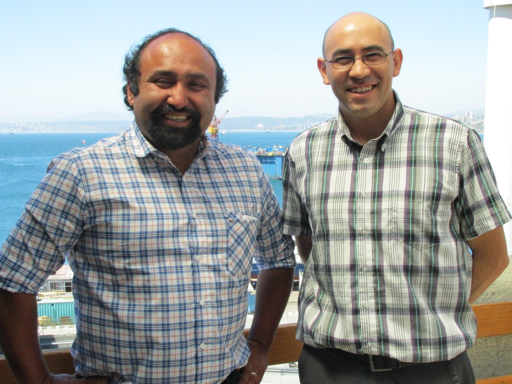 """Investigadores de IFOP Luis Ossa y Luis Figueroa  participan  en  Charlas """"Conversando con Científicos"""" en  Museo Fonck de Viña del Mar"""