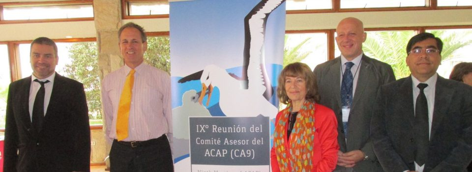 Chile is the host of the ninth meeting of ACAP