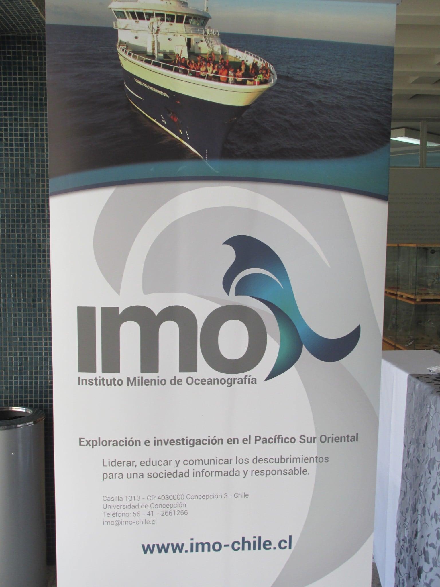 Director de IFOP asiste a ceremonia de inauguración del Instituto Milenio de Oceanografía, IMO