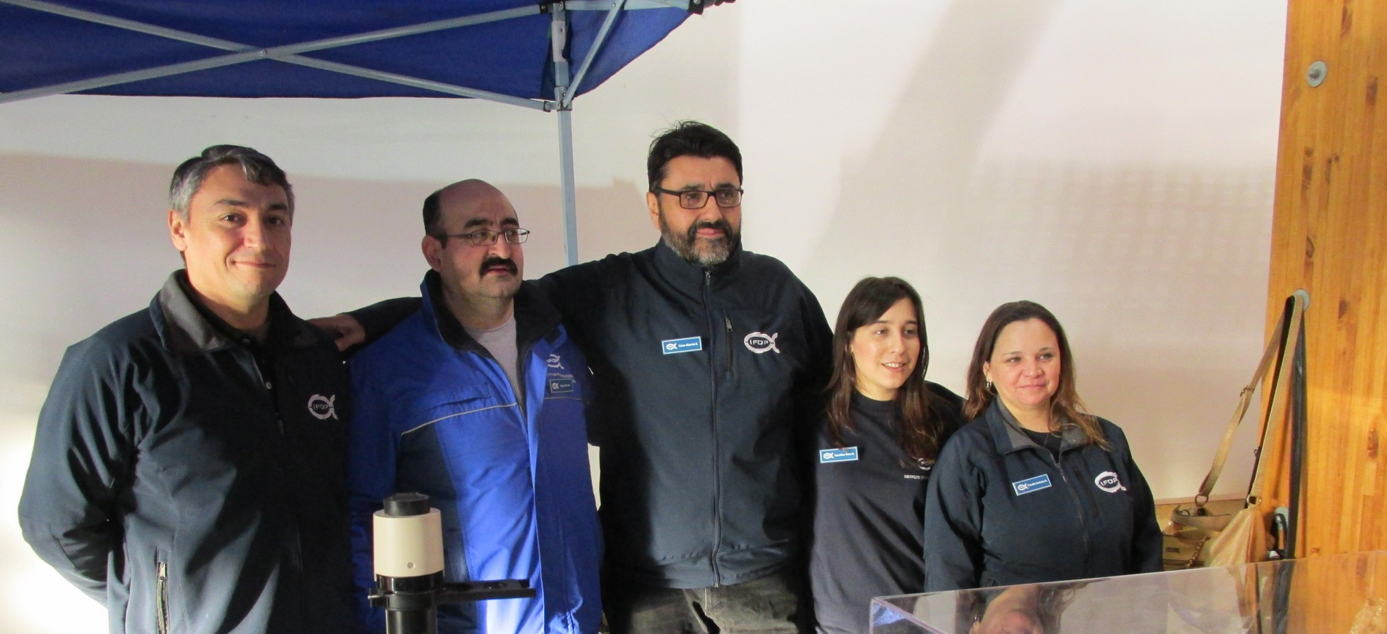 The big success of the Interactive Scientific Show of IFOP at Punta Arenas