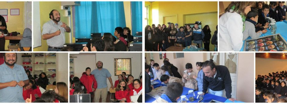 IFOP:  Speeches in schools of Valparaiso and Talcahuano