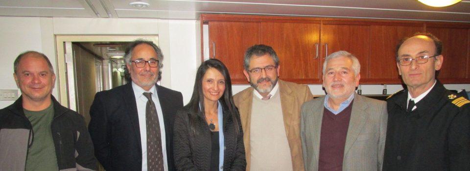 Pilar Proaño Viceministra de Acuicultura y Pesca de Ecuador visita IFOP