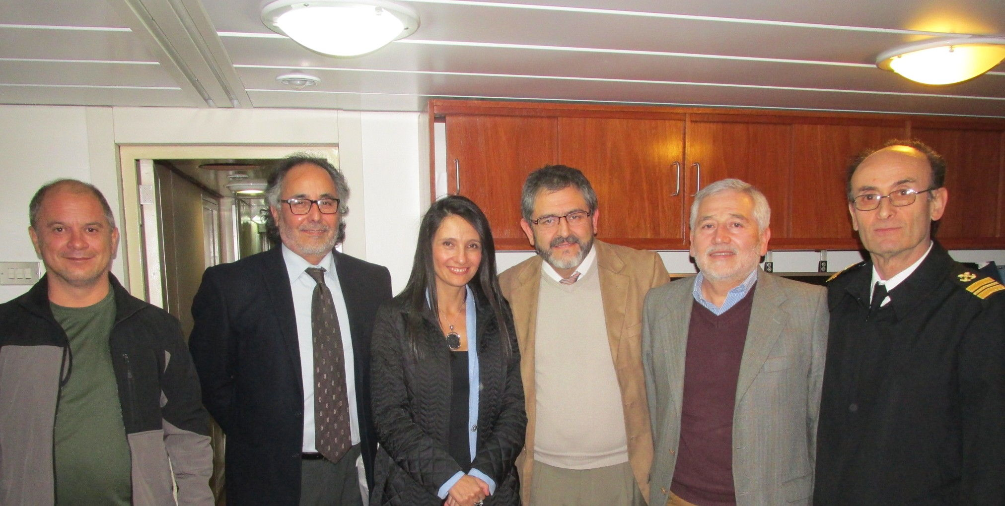 Pilar Proaño, Ecuador Vice-minister of Aquiculture and Fishing visited IFOP