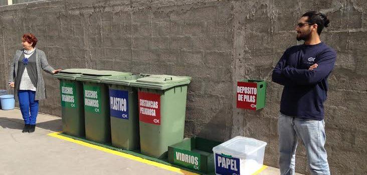 IFOP Iquique inicia campaña de reciclaje de basura