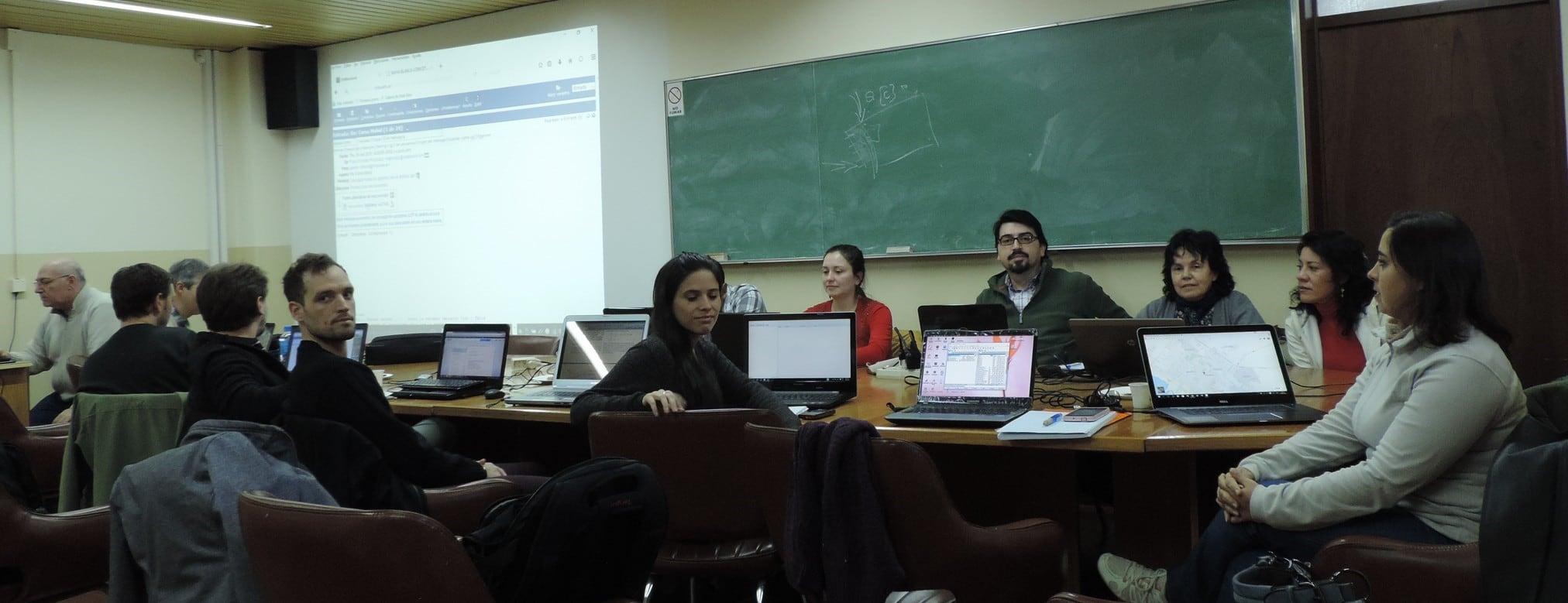 Investigadores de IFOP asisten a curso internacional Mohid Water en Argentina