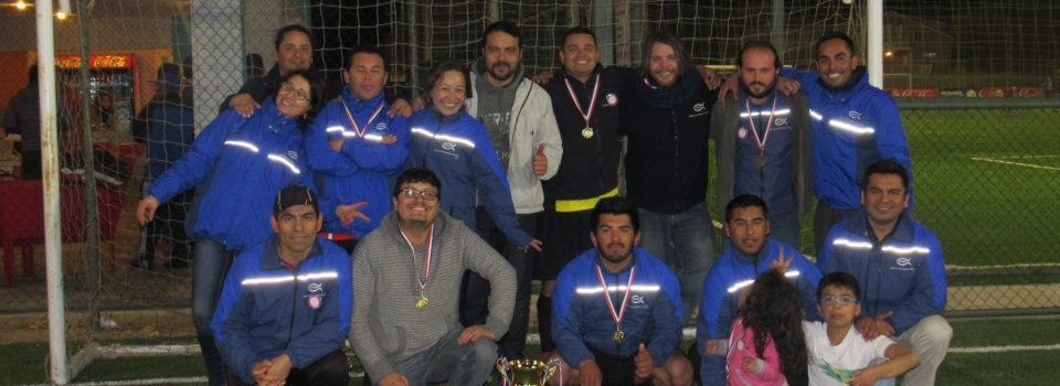 Instituto de Fomento Pesquero resultó ganador de campeonato de futbolito en Coquimbo