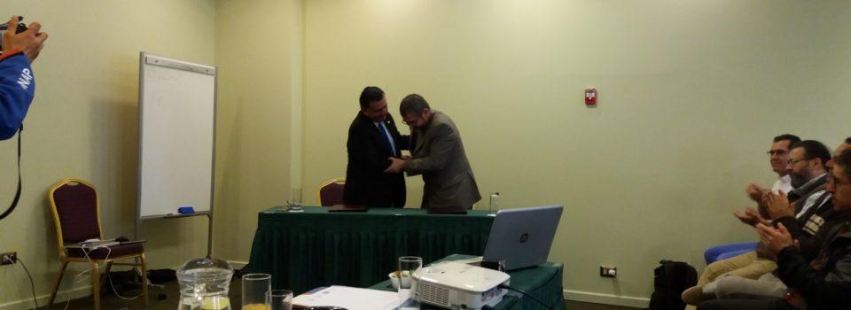 Instituto de  Fomento Pesquero y Universidad Arturo Prat Firmaron Convenio Marco