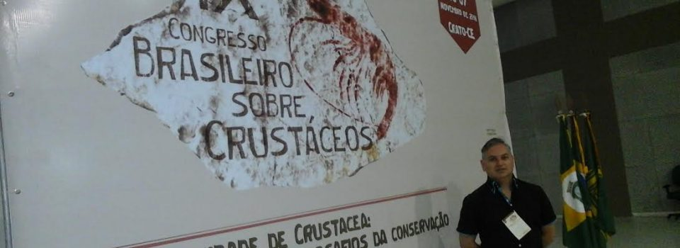 "IFOP researcher Andrés Olguín attends ""IX Congress of Crustaceans"" in Brazil"