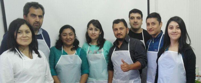 IFOP organizó  taller de cocina saludable para sus trabajadores