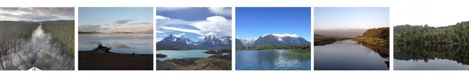 lagos de Chile