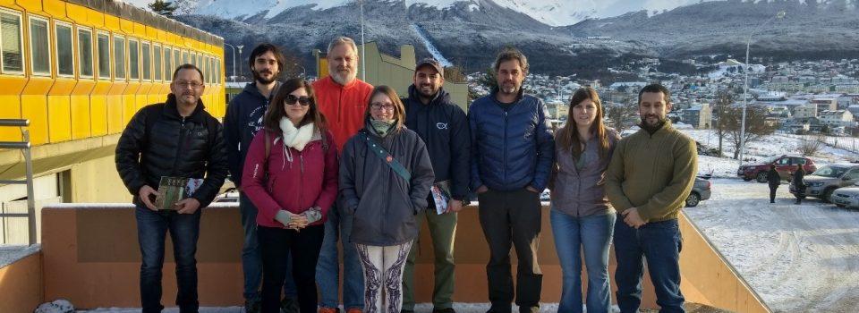 Investigadores chilenos y argentinos se reúnen en Ushuaia Argentina para trabajar sobre pesca artesanal de centolla y centollón
