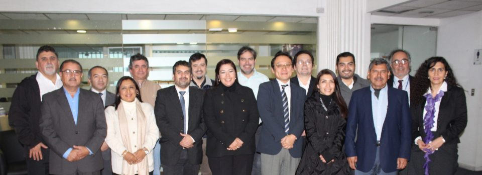 Delegation from El Salvador's Ministry of Economy visits Chile.