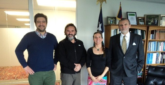 New Zealand: Chilean delegation participated in Agreement for the Conservation of Albatrosses and Petrels meeting