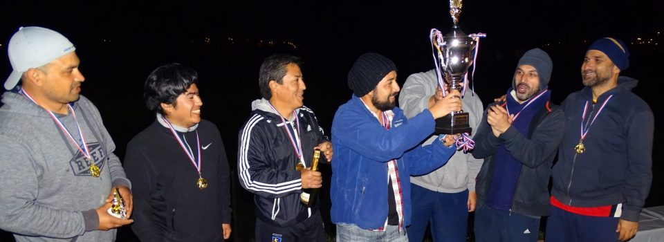 Little soccer Championship Organized by IFOP in Coquimbo successfully ends.