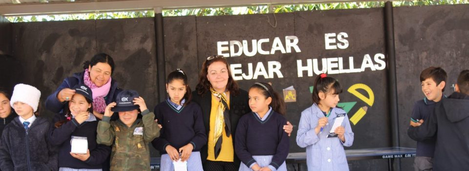 "IFOP participates in ""A thousand scientists a thousand classrooms"" giving talks in schools in Chile"