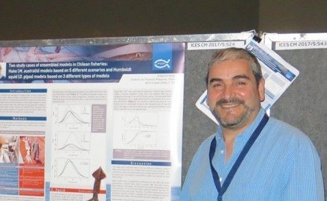 Ignacio Paya IFOP researcher participated in ICES Annual Conference