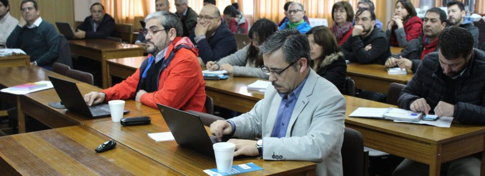 """PUCV held the seminar """"Diagnosis of fishery resources in Chile"""""""