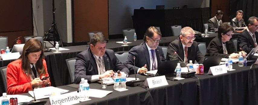 """Delegación Chilena participa en reunión de """"Crecimiento Azul"""" para América Latina y el Caribe"""