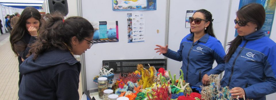 IFOP Coquimbo participates in CONICYT EXPLORA Program Year of the Oceans