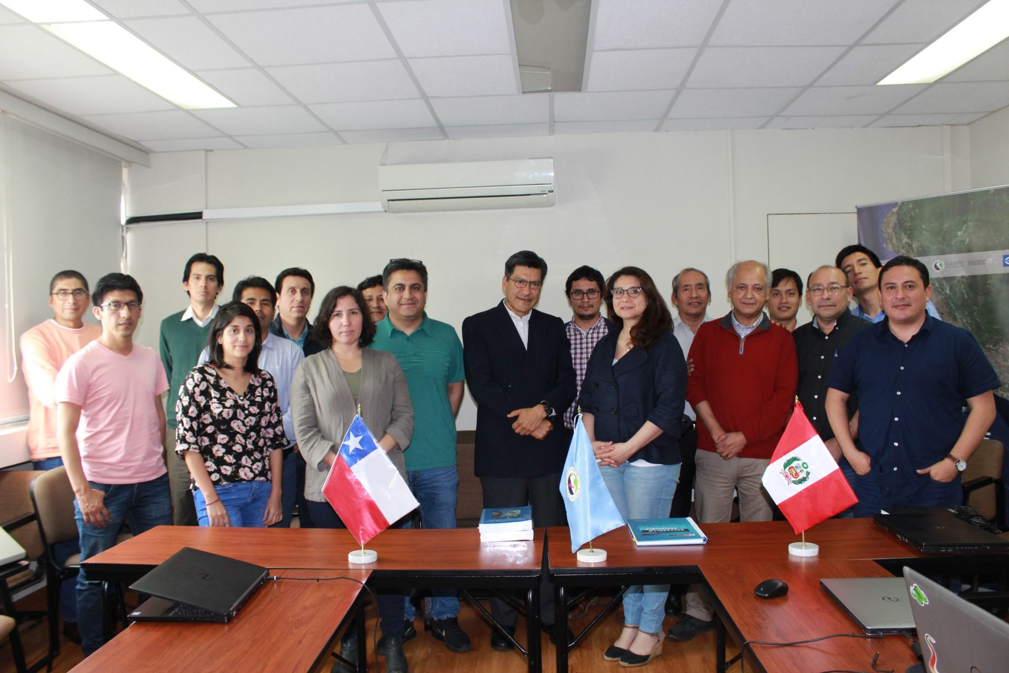 Chilean and Peruvian researchers participated in an anchovy joint workshop in Peru