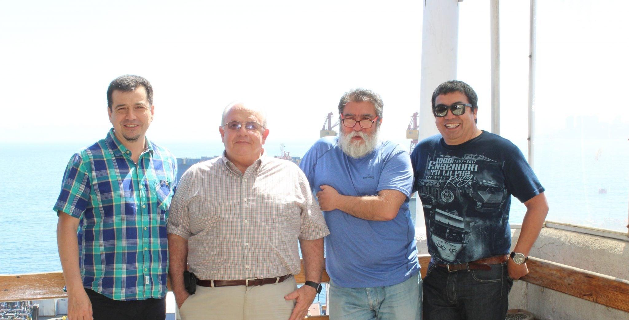 Investigadores de Chile y México comienzan estudios del océano utilizando modelos numéricos.