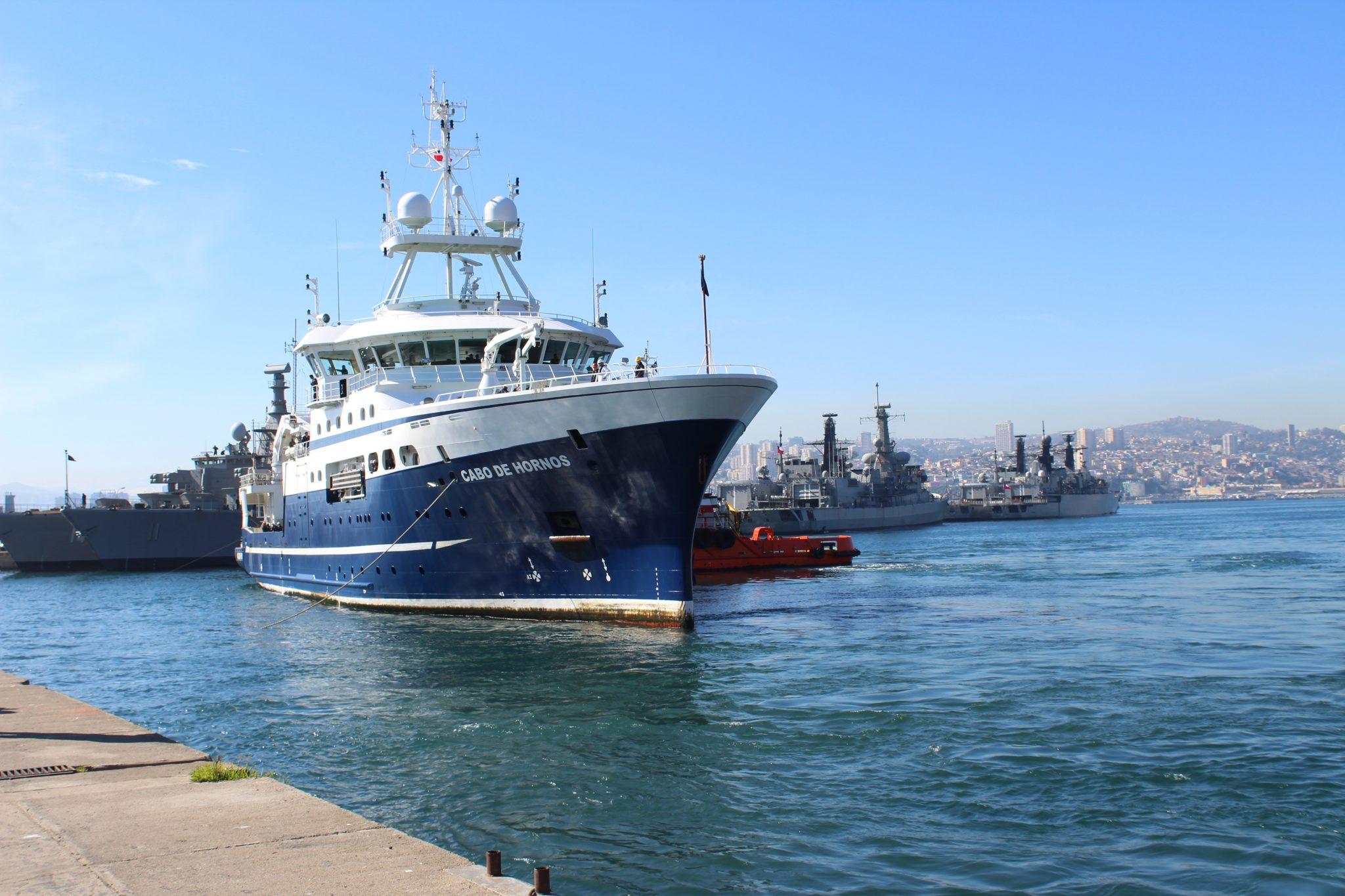 Dos buques utilizará IFOP para cuantificar la biomasa de Jurel