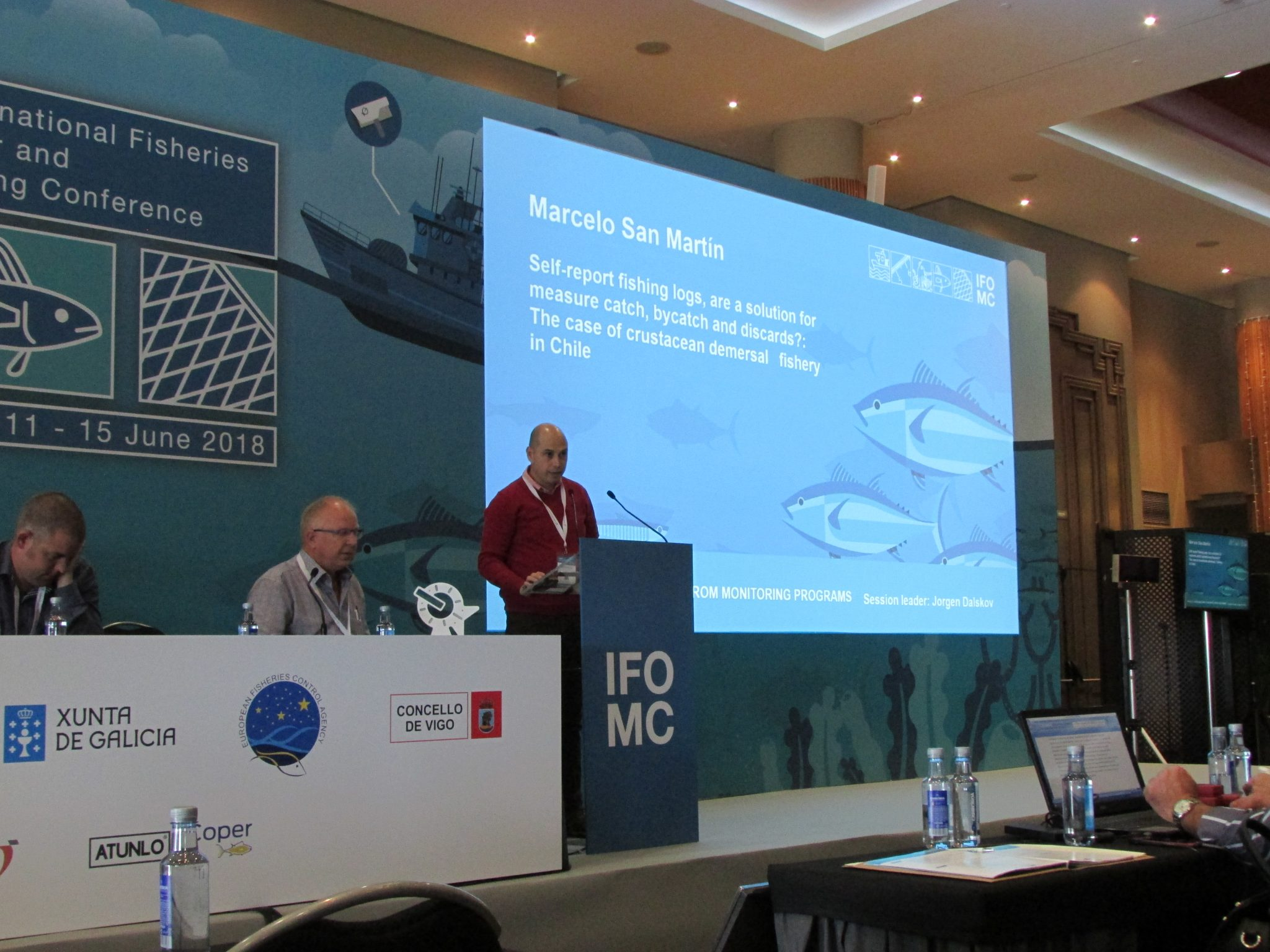 Subpesca and IFOP are participating in international fisheries observation and monitoring conference