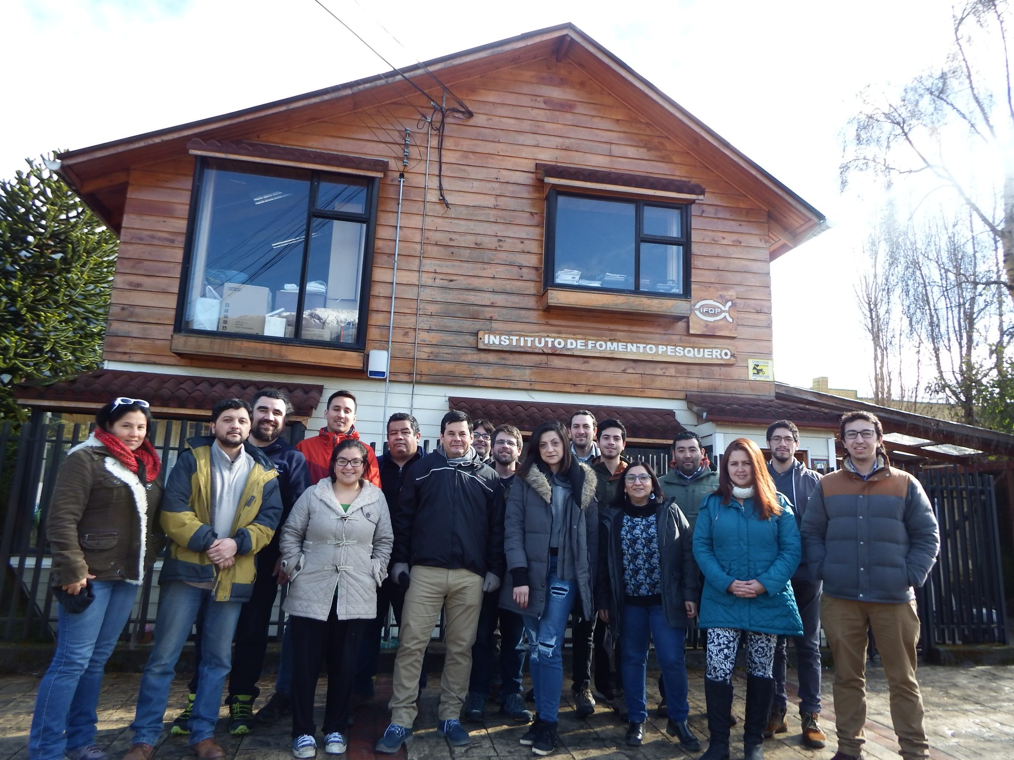 """IFOP held  """"Multivariate Analysis for Biology, Ecology and Sciences"""" workshop"""