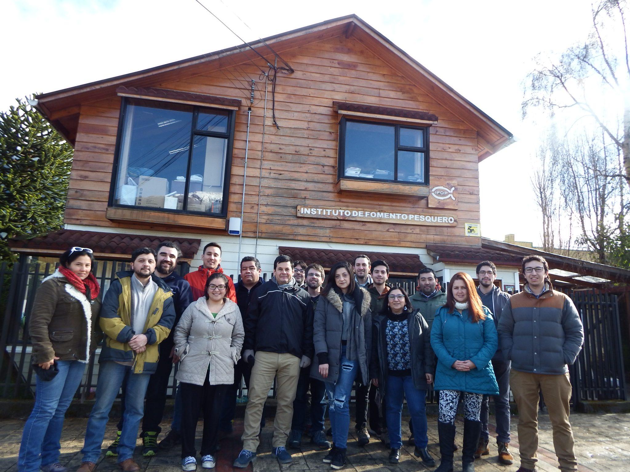 """IFOP realizó taller """"Análisis Multivariados para Biología, Ecología y Ciencias"""""""