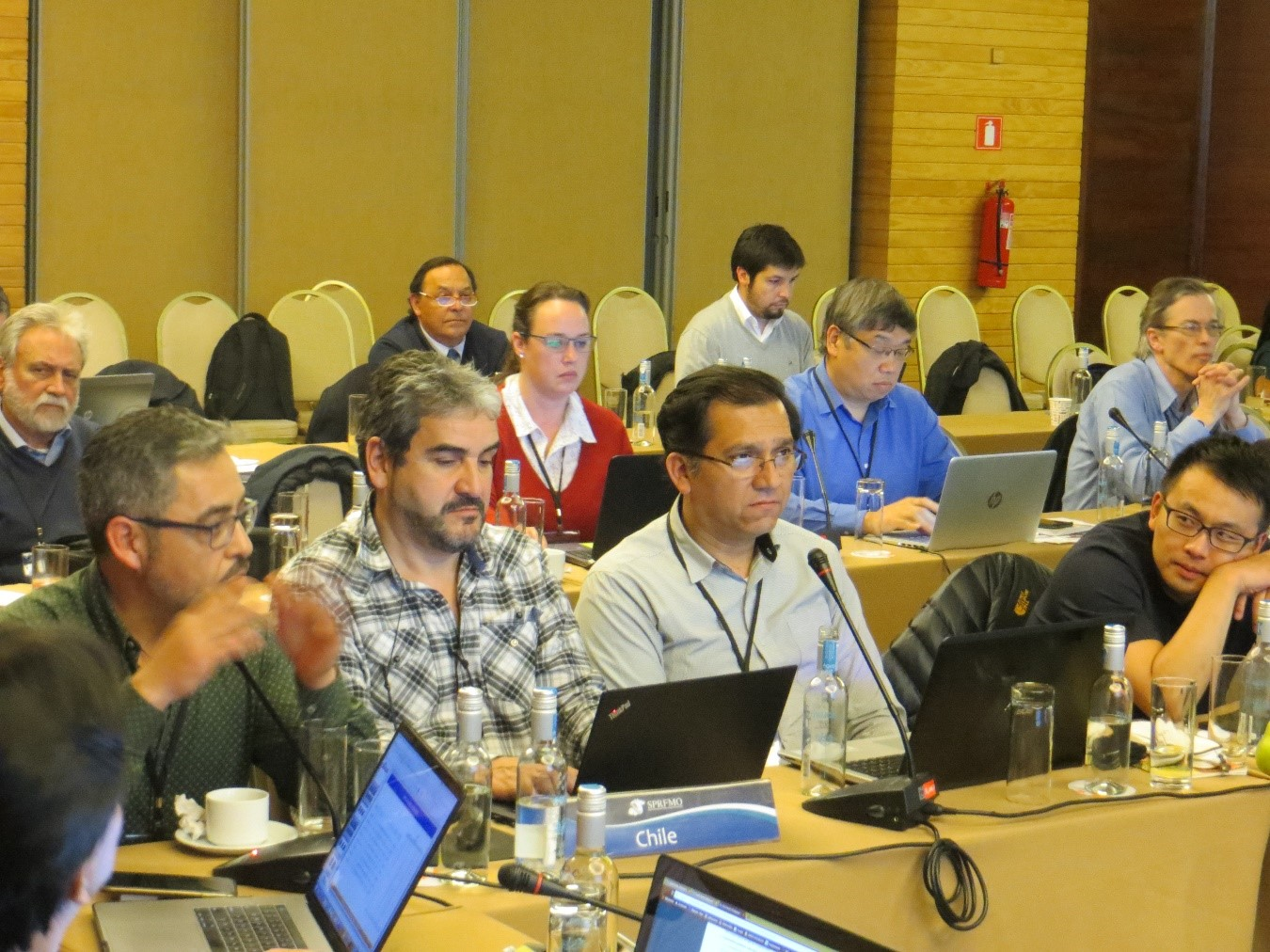 IFOP was part of the South Pacific Regional Organization of Fisheries Management  scientific committee Chilean delegation