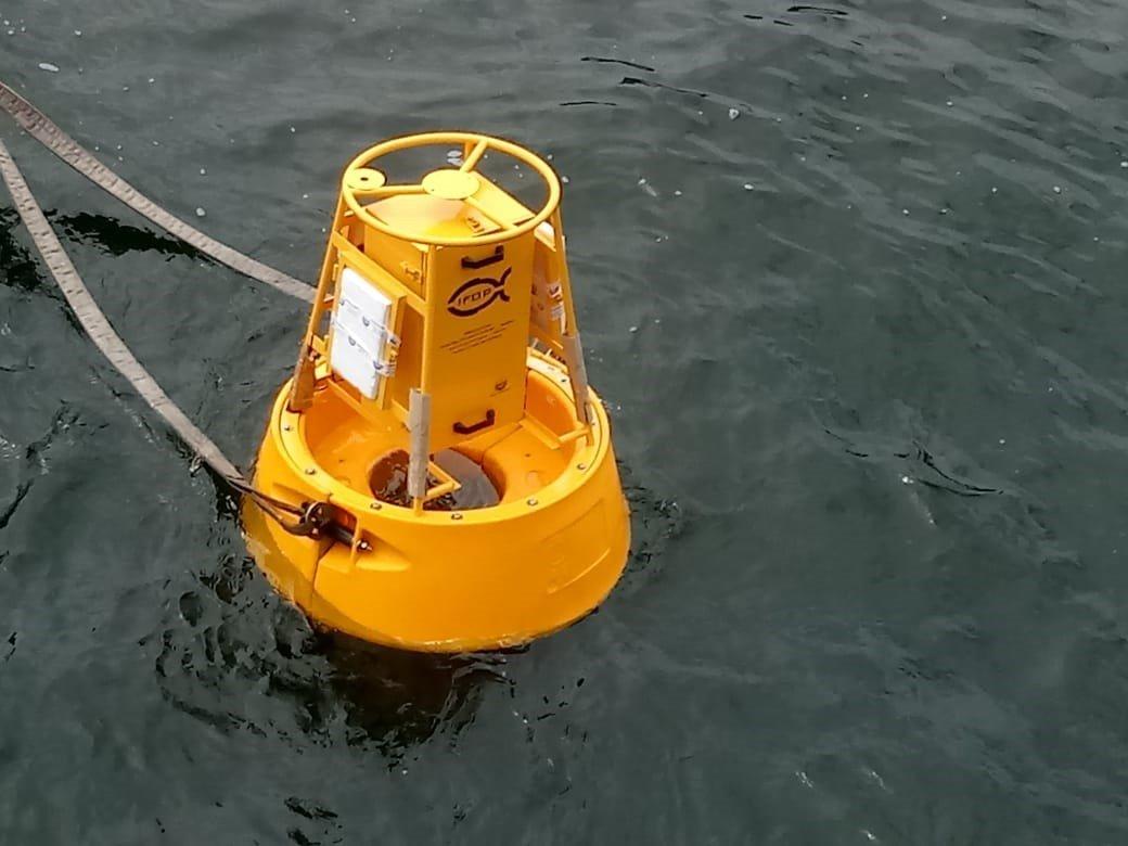 IFOP realiza pruebas de su boya oceanográfica para el estudio del cambio climático