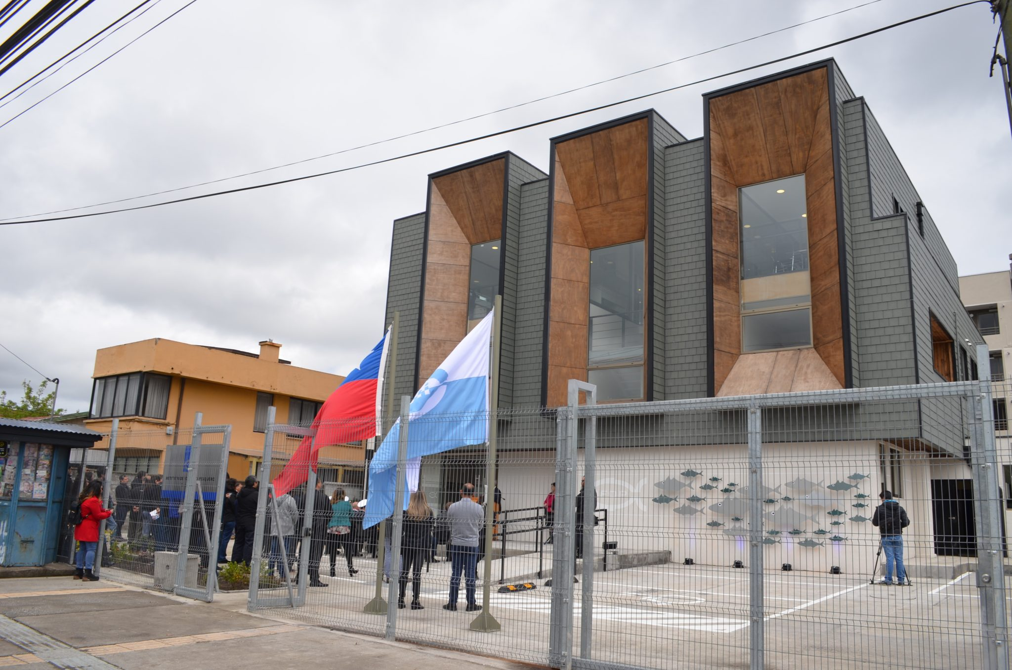 Fisheries Development Institute inaugurated new offices in Talcahuano