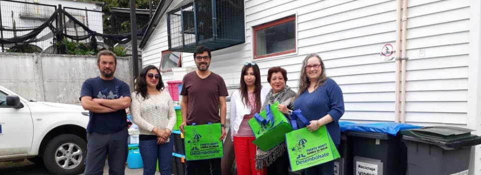 959 kilograms of garbage were collected at IFOP Puerto Montt clean point