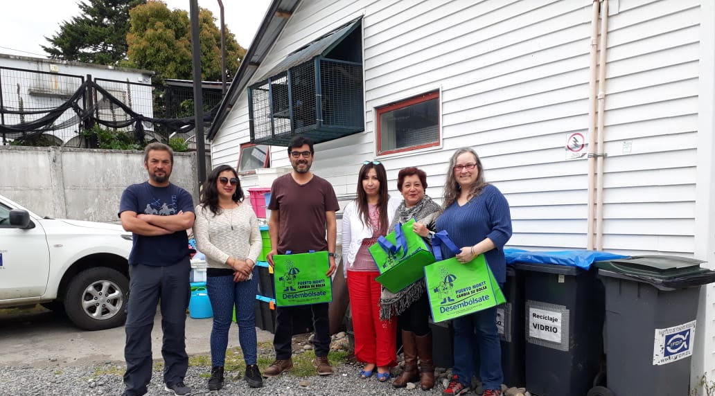 959  kilos de basura se recopilaron en punto limpio de IFOP Puerto Montt