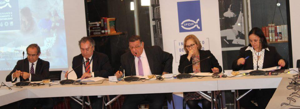 IFOP celebra su aniversario 55 en sesión especial de la Comisión Pesca