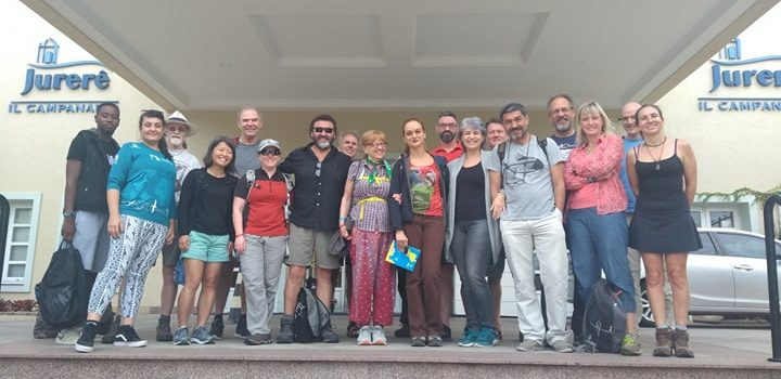 Chilean Delegation participated in the Albatrosses and Petrels Conservation meeting  held in Brazil