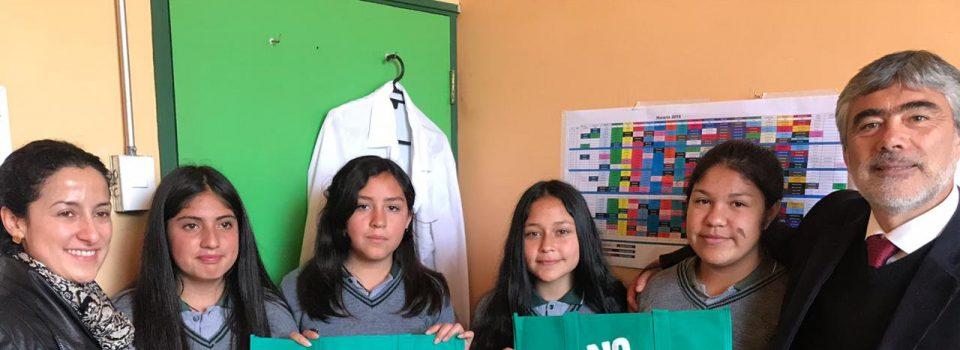 IFOP en conjunto con la Municipalidad de Concón realizan charlas ecológicas en colegios