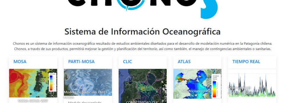 CHONOS oceanographic monitoring website is modernized by IFOP