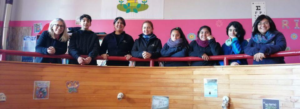 IFOP realiza charlas a escolares de Caleta Andrade y Puerto Aysén