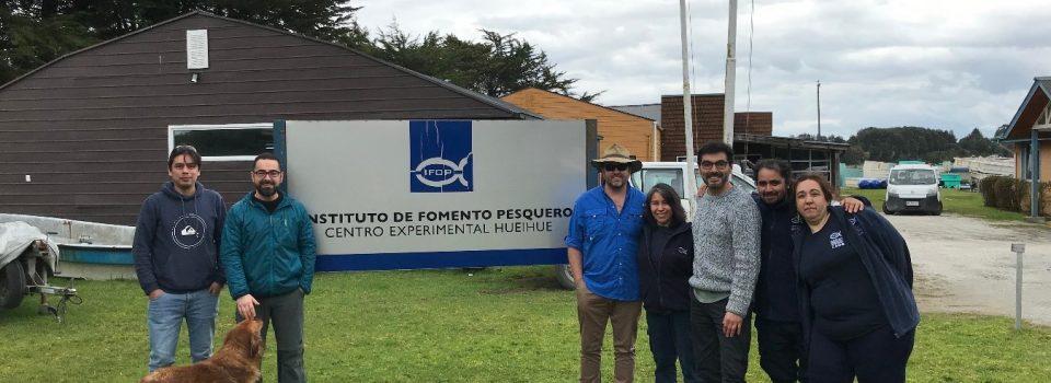 Experto australiano en repoblación basada en acuicultura visita Chile