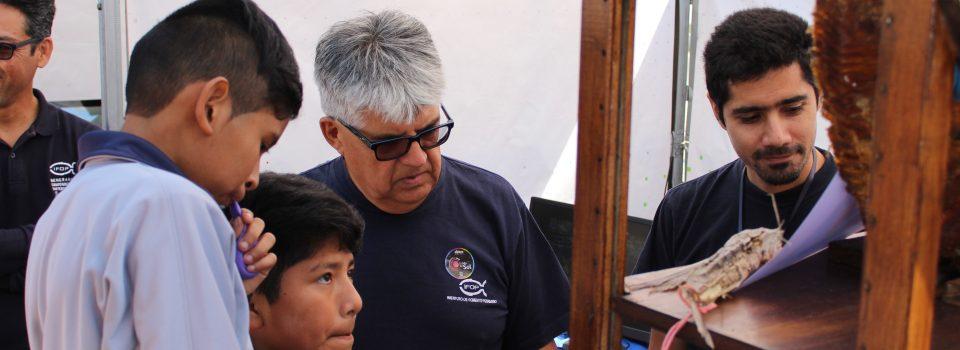 IFOP Arica tuvo una brillante  participación en la semana de la Ciencia organizada por Explora.