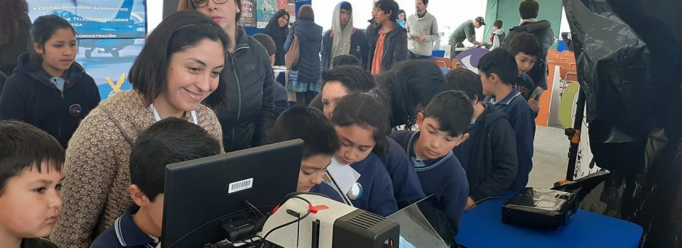 Harmful Algae Studies Center  (CREAN) – Puerto Montt was present at a local Science Festival.
