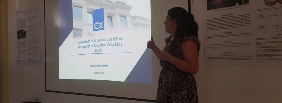 Investigadora Karen Belmar asiste a curso de Cefalópodos en México