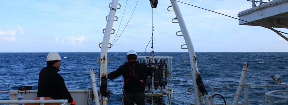 """Buque científico """"Abate Molina"""" participa en Crucero Regional Conjunto coordinado por la Comisión Permanente del Pacífico Sur"""