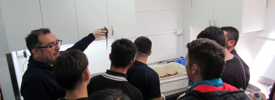 Escolares visitan las instalaciones de IFOP en Talcahuano