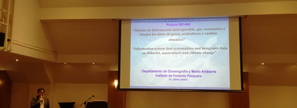 "Dr. Jaime Letelier from IFOP presents in ""Strategies for adaptation to climate change and  public-private collaboration role"" workshop"