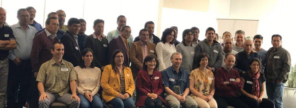 Investigadores de IFOP asisten a taller en Instituto del Mar de Perú